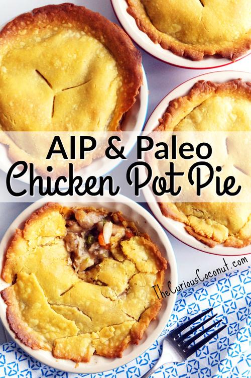 AIP & Paleo Chicken Pot Pie // TheCuriousCoconut…