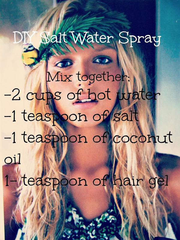12 Hair Hacks, Tips and Tricks On How To Get Beach Waves