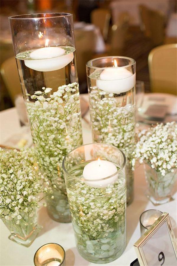Diy Wedding Ideas » 20 Stuning Wedding Candlelight Decoration Ideas You Will Love »   ❤️ See more:  www.weddinginclud…