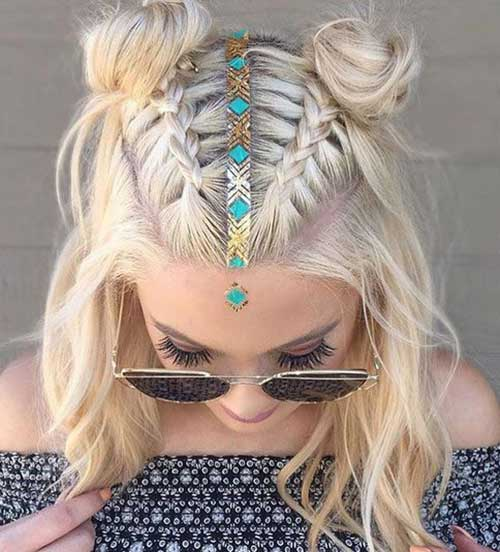 Special invitations and parties like to look nice and stylish as every woman. Your hair style is as important as your clothes, and
