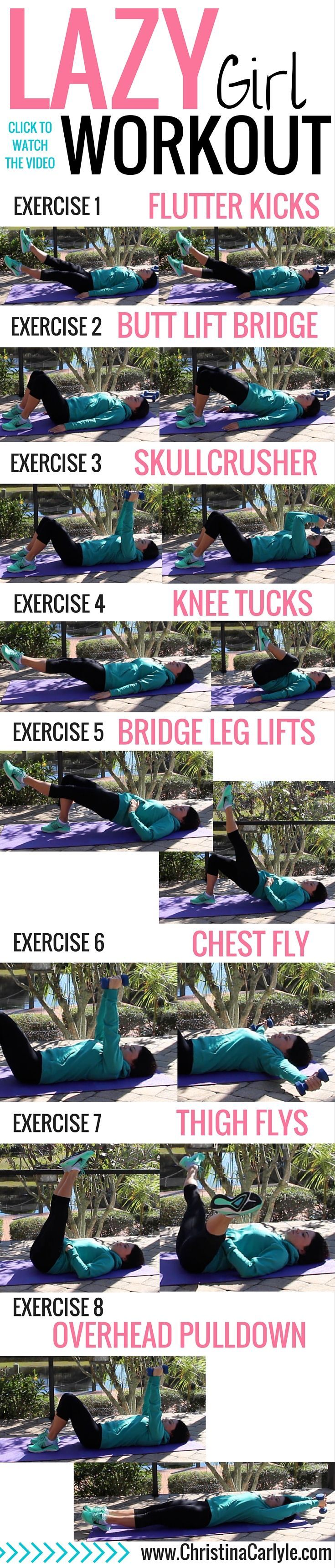 awesome Lazy Girl Workout – Christina Carlyle