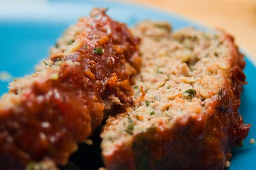 Gluten Free Meatloaf Recipe. This Is So Good-I added a quarter cup of crushed cornflakes, 1/2 each red/green bell pepper,