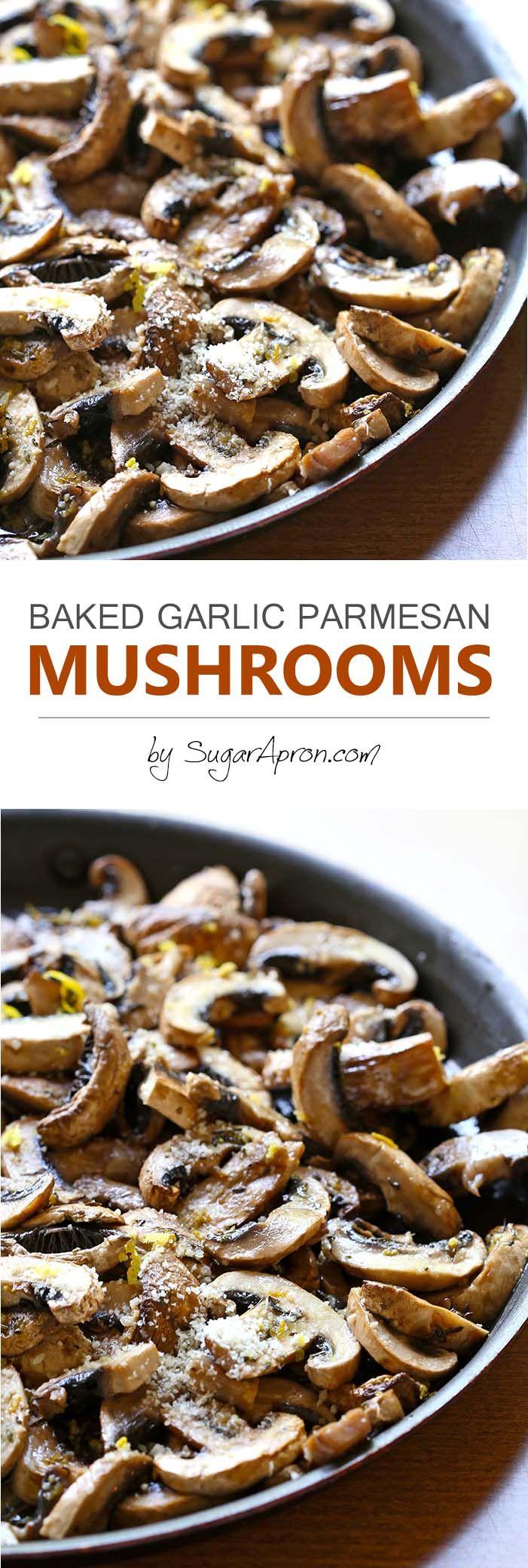 Baked Garlic Parmesan Mushrooms is one of those everyone-should-know-how-to-make recipes. It's easy and comes together quickly.