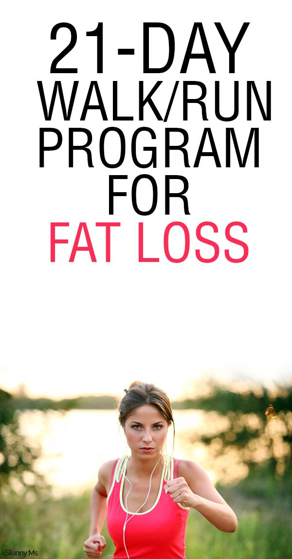 In this simple beginner running program, you can walk/run your way to surprising fat and weight loss results. Sometimes the route
