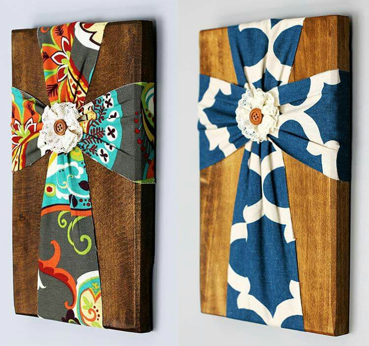 You choose the fabric, and wood color! Perfect for your home or gifts! See all pricing, sizes, and options here: