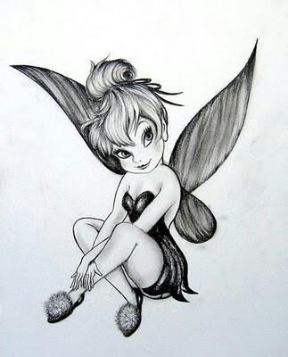 Tinkerbell tattoo idea