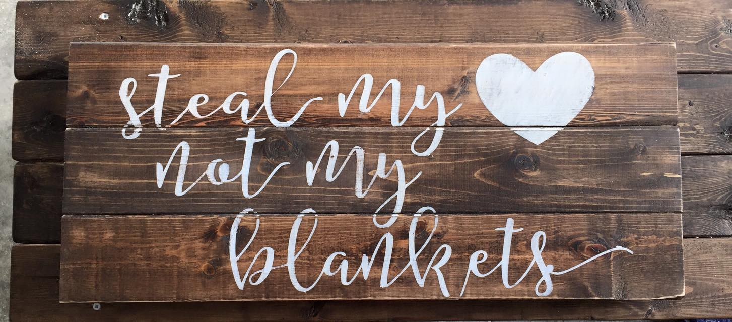 Pallet Sign | Reclaimed Wood | DIY | Pallet Art | Rustic Sign | Rustic Home Decor | Quote Sign | Bedroom Decor | Shabby Chic |