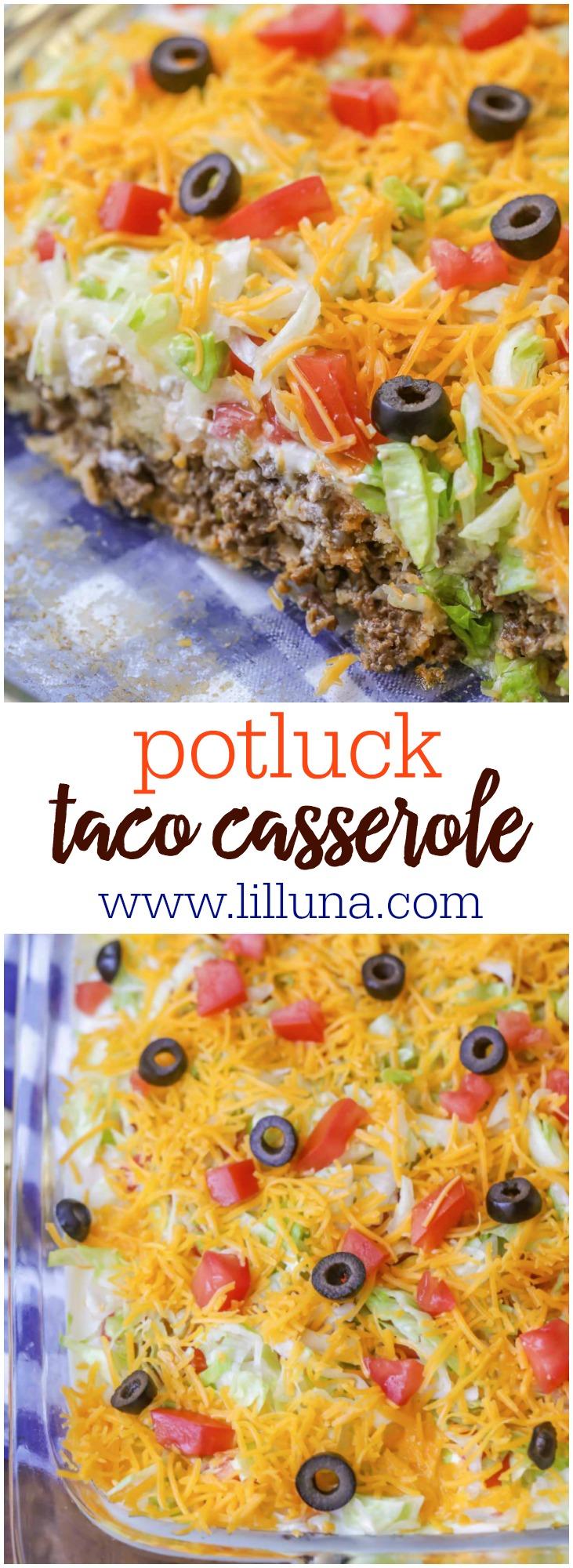 Delicious Taco Casserole