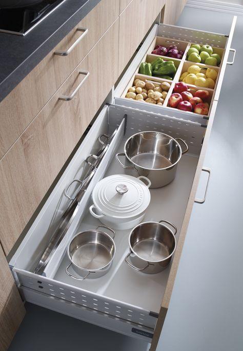Goodbye junk drawers – hello organization! IKEA SEKTION interior organizers turn chaotic drawers and hard-to-reach corners into