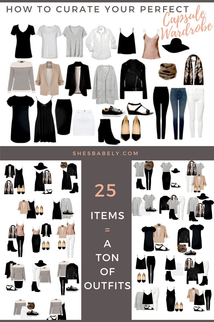 Build Your Perfect Capsule Wardrobe – Curate Your Capsule Wardrobe