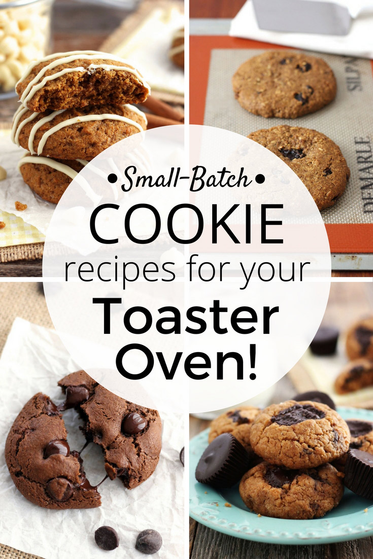 From bakery style oatmeal raisin to double chocolate chip there's a single batch toaster oven cookie recipe here for every