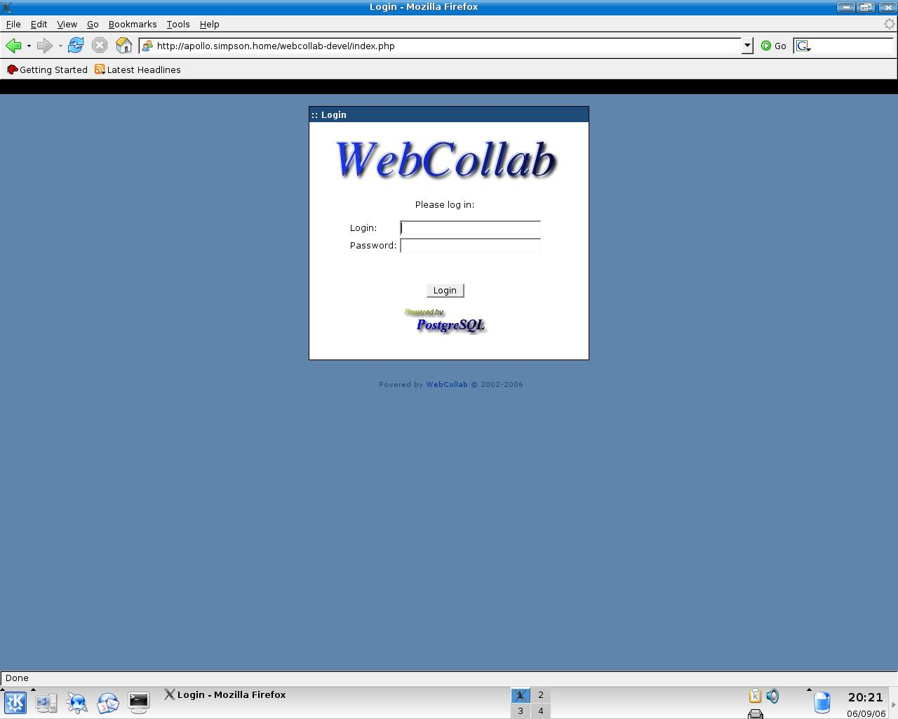 webcollab http://in.linkedin.com/in/prashantkumarsharma