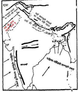 india rainfall 1 259x300 - भारत में जलवायु और वर्षा – Climate and Rainfall in Hindi