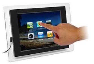 Touch Screen - कंप्यूटर के इनपुट डिवाइस (Input Devices)