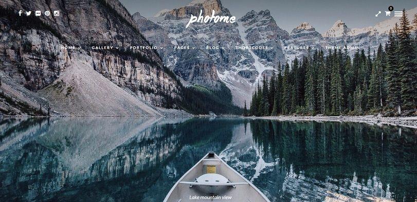 best wordpress theme for photographers 2015