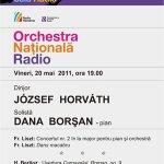 Horváth József si Dana Borsan in concert la Sala Radio