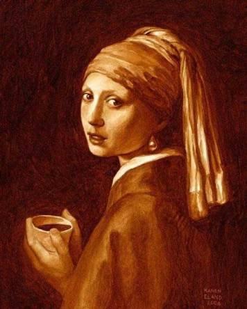 pictura din cafea 5