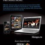 Serviciul HBO GO disponibil pentru clientii de televiziune Romtelecom