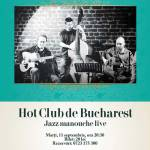 Hot Club de Bucharest. Concert live de jazz manouche