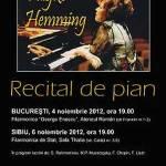 Fuzjko Hemming: o mare pianista pe scena Ateneului Roman