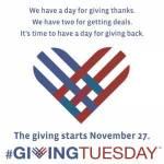 "Astazi este #GivingTuesday, ""martea daruirii"""