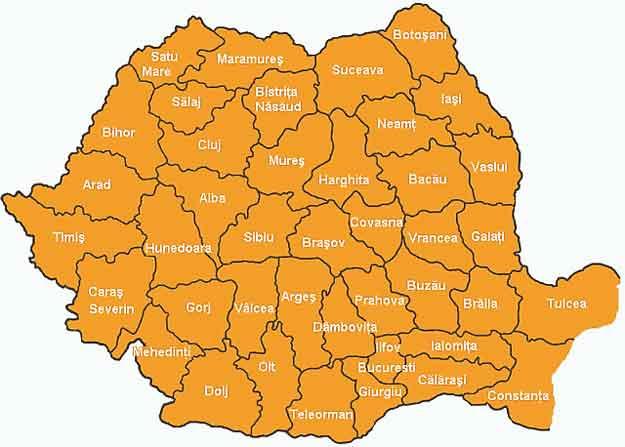 Romania-harta