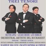Seara celor trei tenori