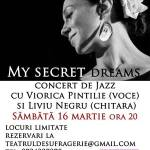 Teatrul de Sufragerie prezinta: My secret dreams…