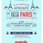 """Atmosferă """"Aproape ca la Paris"""" la Acuarela"""