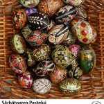 Sărbătoarea Paștelui – expoziție de ouă încondeiate