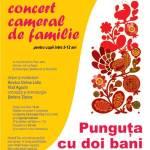 Punguța cu doi bani – concert cameral de familie