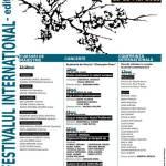 "Festivalul Internațional ""Sigismund Toduță"" – ediția I"