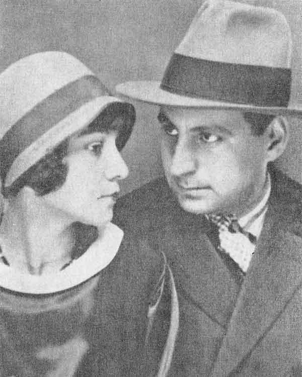 George Calinescu si Alice Vera (1930) - v. aici