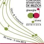 """Concursul Internațional de Interpretare Muzicală """"Gheorghe Dima"""""""