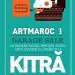 ARTMAROC 1 Garage Sale Artsy de la Kitră la Acuarela