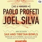 Sax and Tibetan Bowls