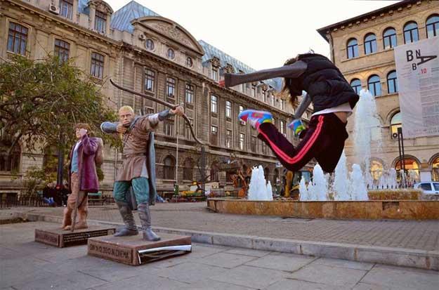 Dancing Bucharest - dansatoare: Judith State.