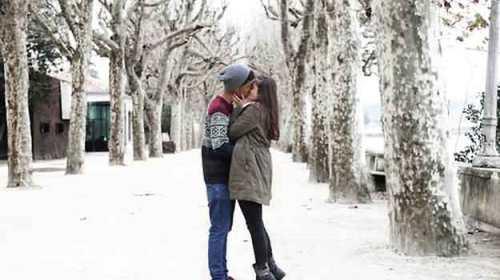 Iarna primei sarutari