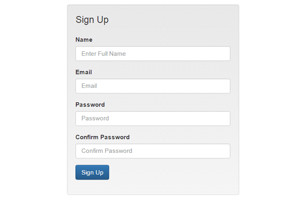 Login and Registration form in PHP