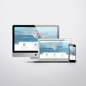 Diseño web Thalassa Tour