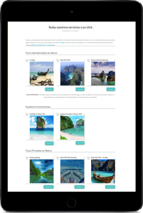 Thalassa Website Ipad