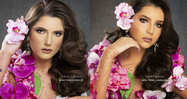 Dos gracitanas participan en el certamen Miss Teen Venezuela Mundo