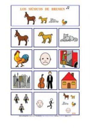 cuentos con pictogramas