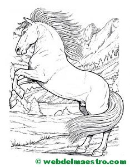 Dibujo de caballo-