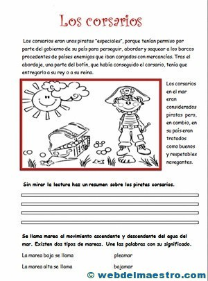 Ejercicios de comprensión lectora-2