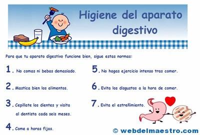 Higiene del aparato digestivo