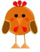 Días de la semana-gallina