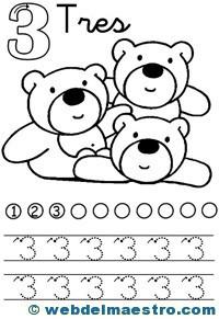 Fichas de números-3