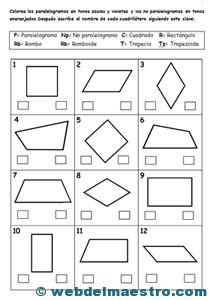 Figuras geomtricas planas  Web del maestro