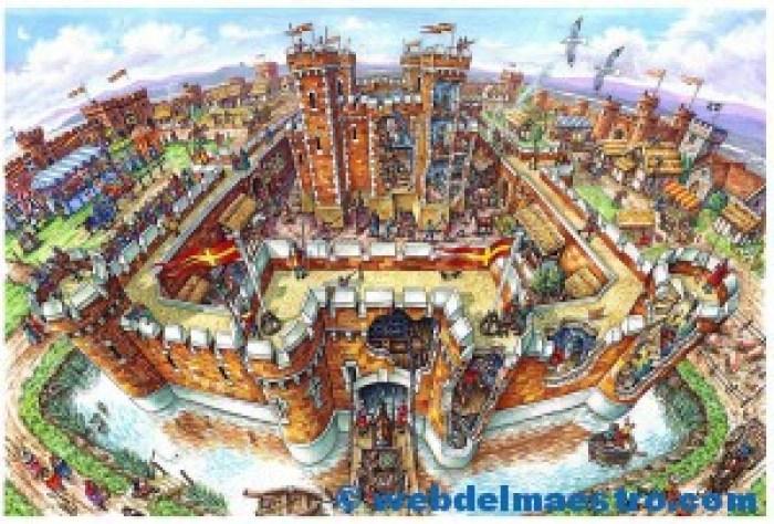 castillo medieval por dentro--